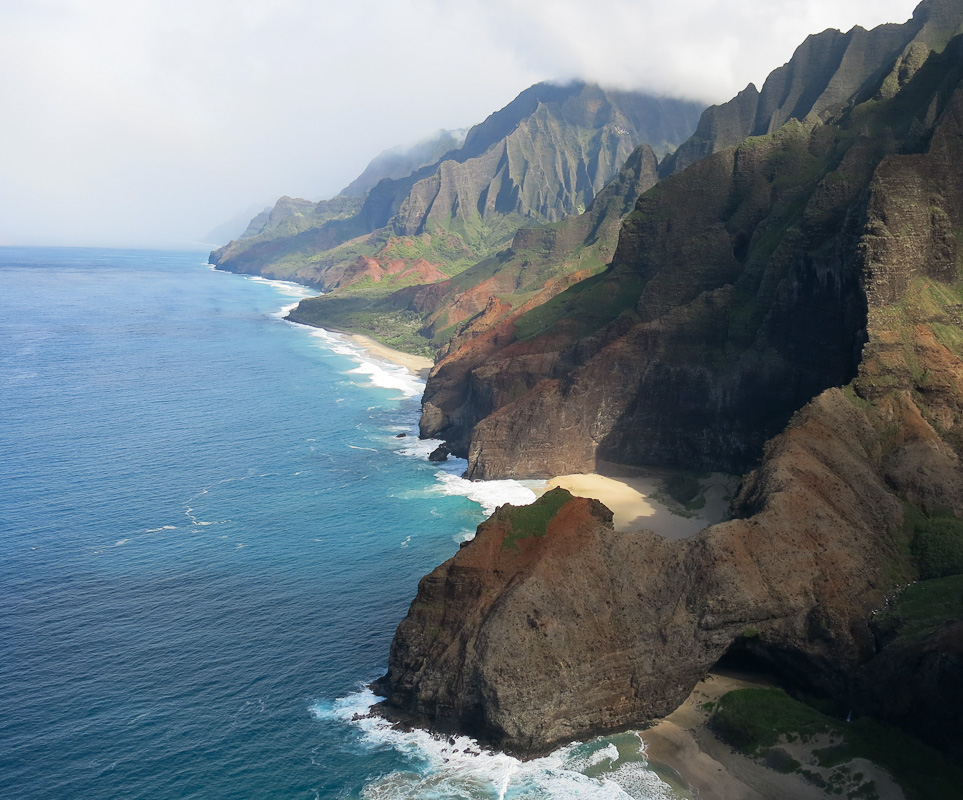 Napali by Helikopter