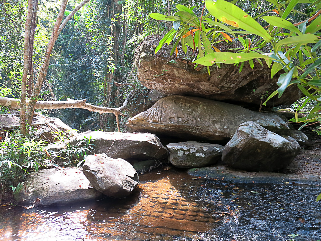 Kbal Spean - Fluss der 1000 Lingams