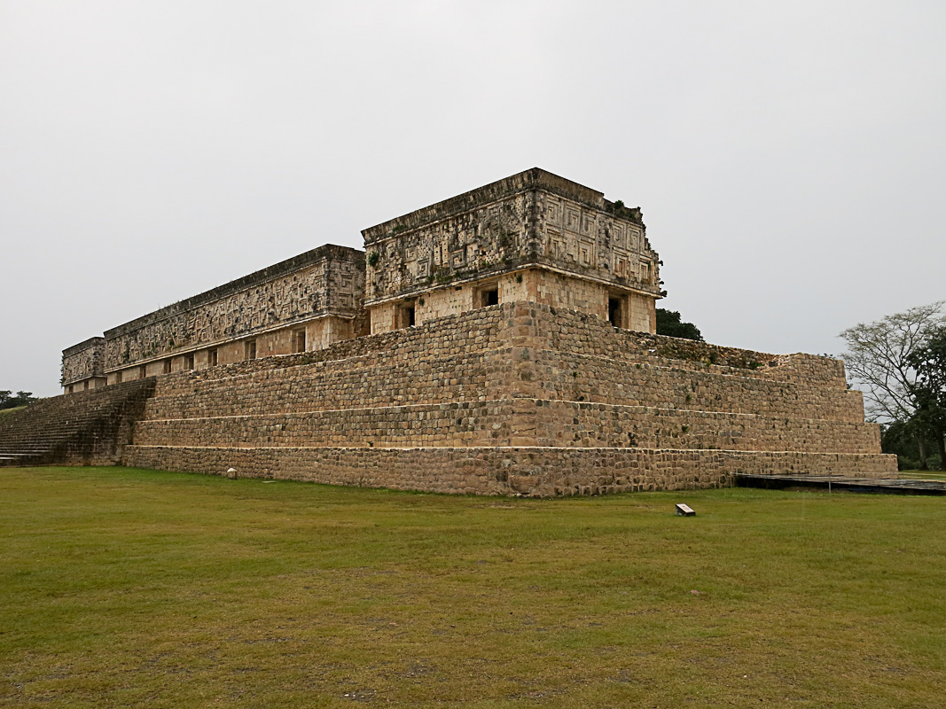 Uxmal - Governeurspalast