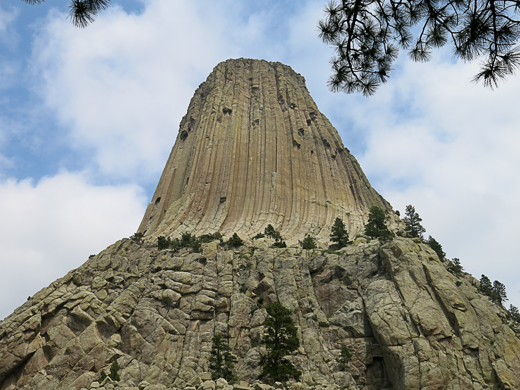 Basalt des Devils Tower